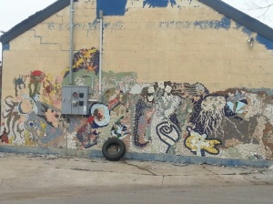 A mural in downtown Lexington