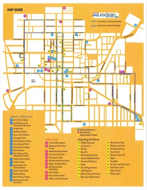 There are 52 galleries, studios and venues for the arts in downtown Lexington!