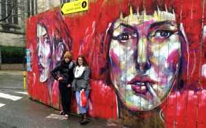 Hannah J. '16 and I went to Rennes with a friend and enjoyed the street art